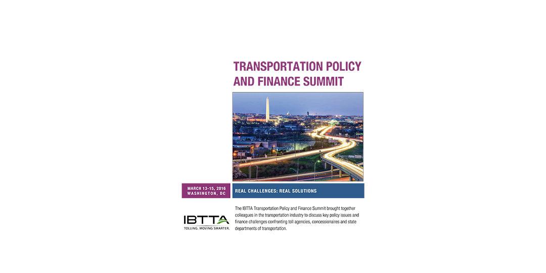 IBTTA Washington Briefing