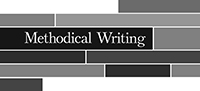Methodical Writing